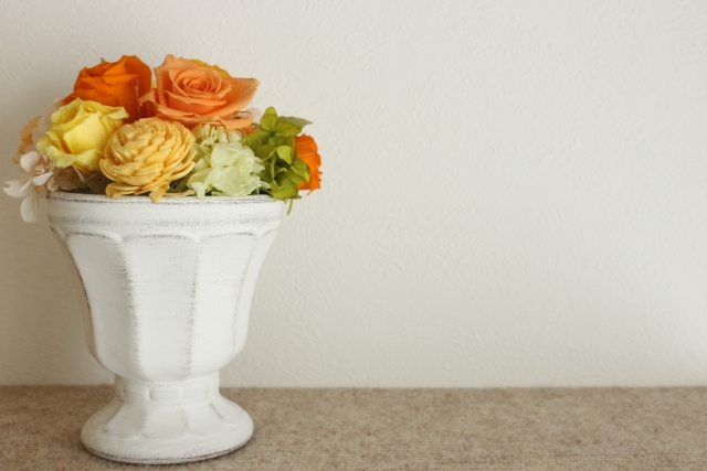 京都 お花教室・フラワーアレンジメント AMBRIDGE ROSE/アンブリッジローズ:三ッ星レッスン 岡山