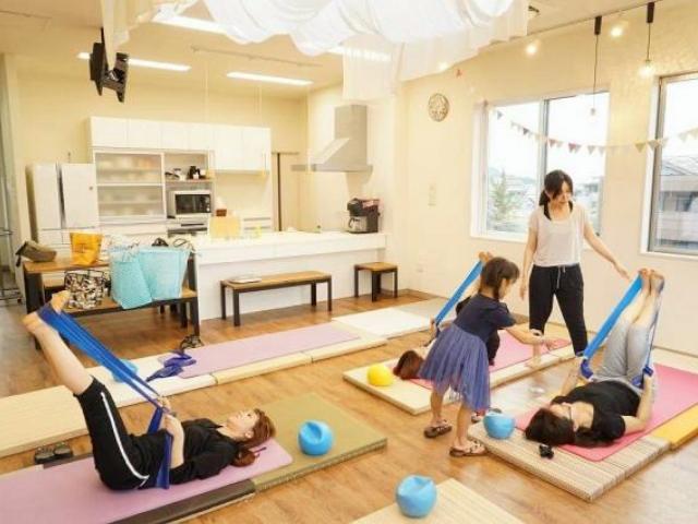 Happy pilates:三ッ星レッスン 岡山